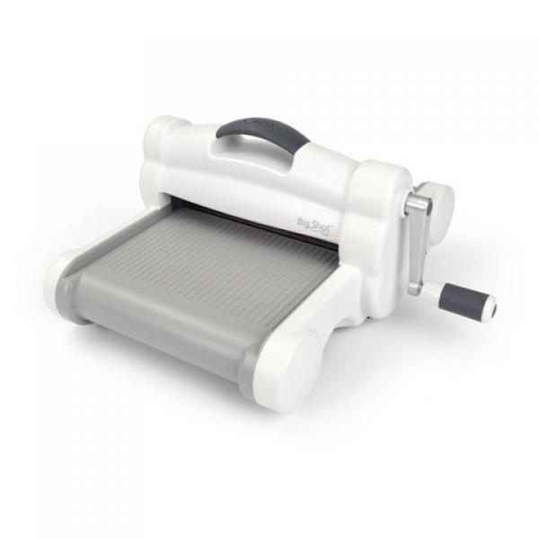 Sizzix Big Shot PLUS Machine Only White & Grey