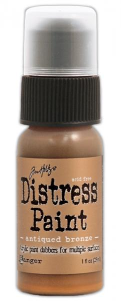 Akrüülvärv Distress Paint 29 ml antiqued bronze