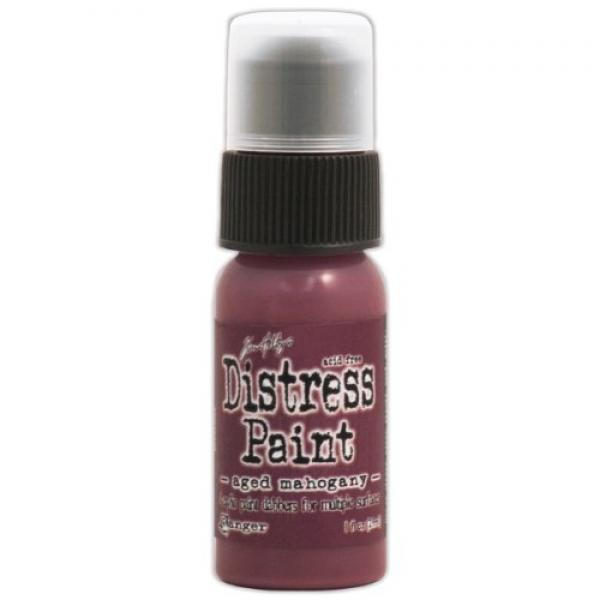 Akrüülvärv Distress Paint 29 ml aged mahogany