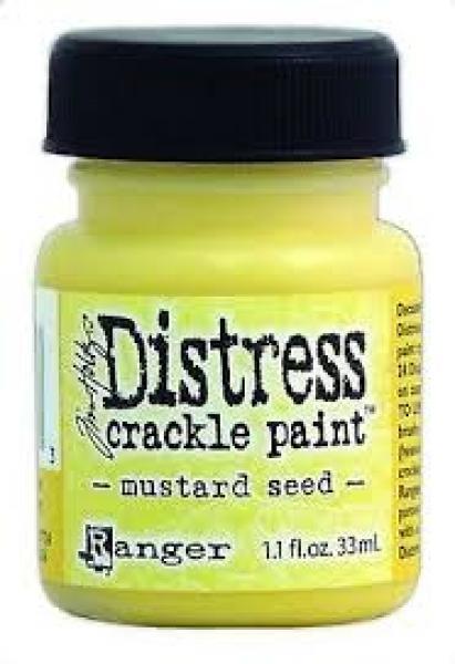 Krakleevärv Distress crackle paint 33 ml mustard seed