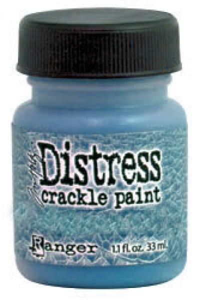 Krakleevärv Distress crackle paint 33 ml faded jeans