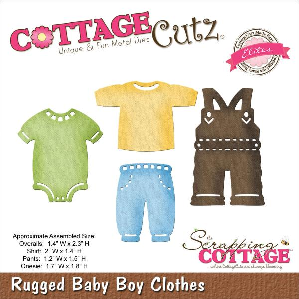 CottageCutz Rugged Baby Boy Clothes