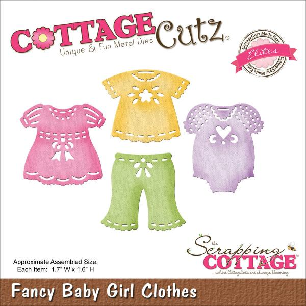 CottageCutz Fancy Baby Girl Clothes