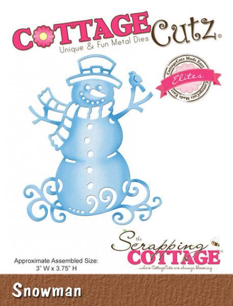 CottageCutz Dies - Snowman
