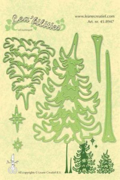 LeCrea - Lea'bilitie pine tree cut & embossing die
