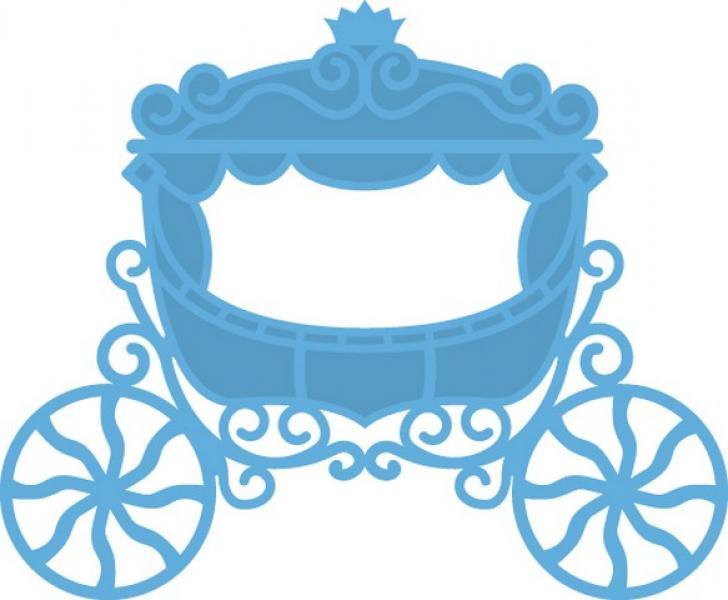 Lõiketera Marianne Design Creatables Princess carriage