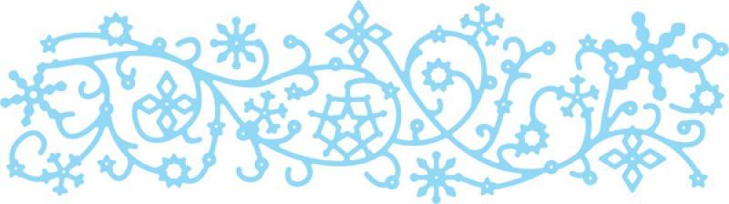 Cheery Lynn Designs Dies - Dancing Snow Flurries