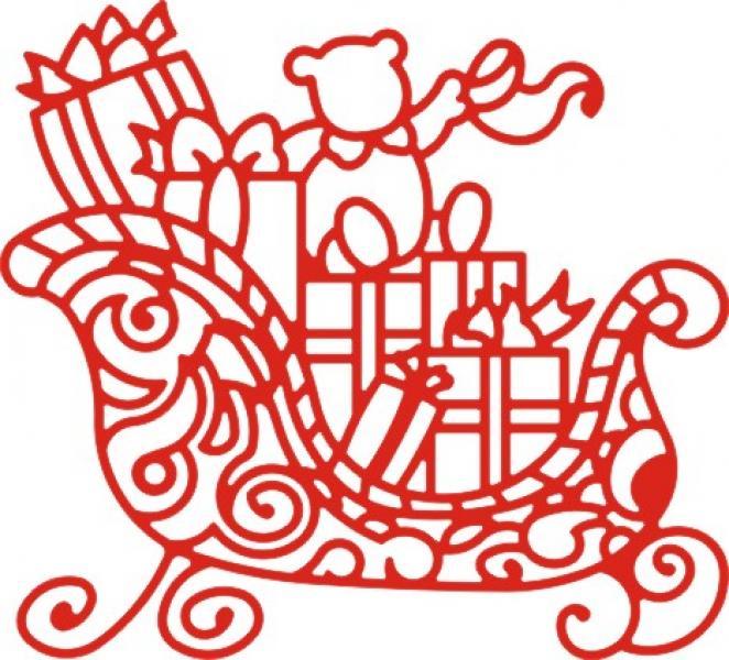 Cheery Lynn Designs Dies - Santa's Sleigh