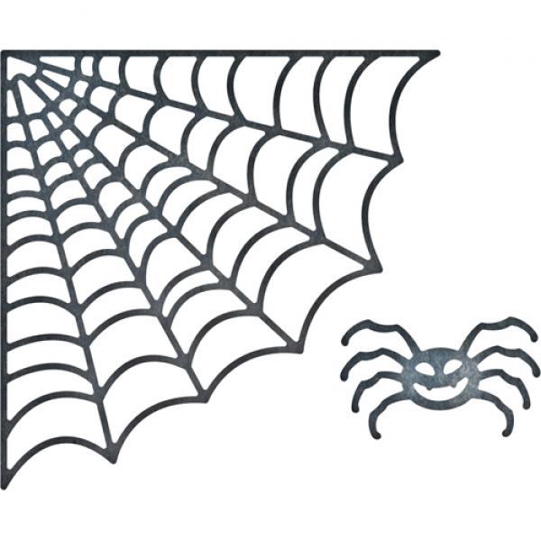 Cheery Lynn Designs Dies - Spider Net (set of 2)