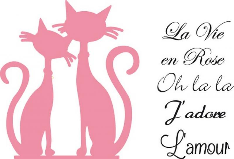 Marianne Design Collectables French cats