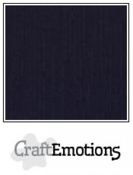 CraftEmotions paber 30,5x30,5 cm 10 lehte pakis must