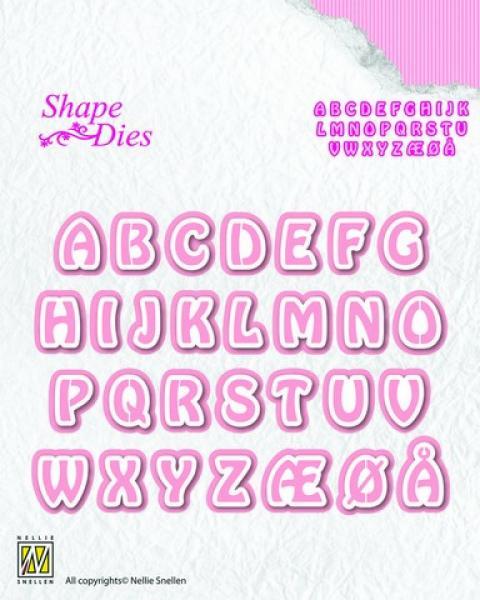 Lõiketera Nellie Snellen alphabet3