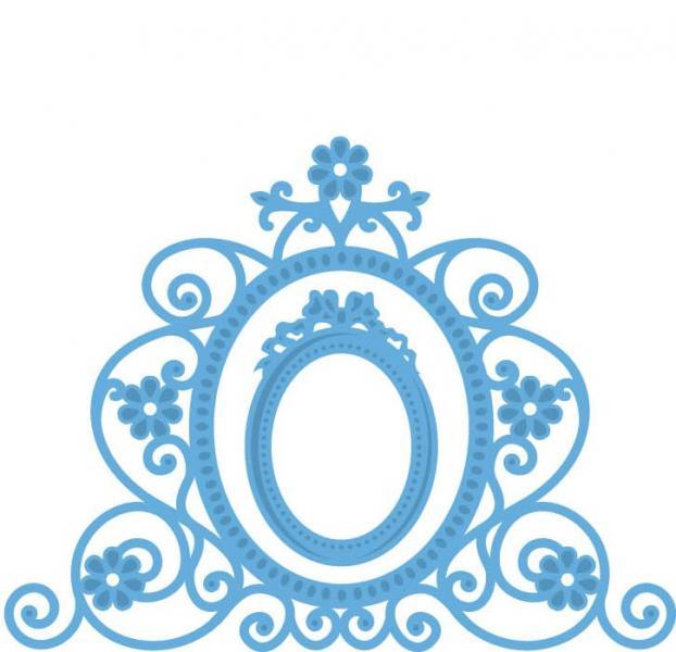 Lõiketera Marianne Design Creatables Flower Mirror