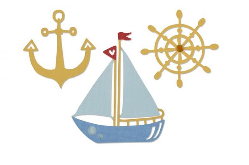 Lõiketera Sizzix Die Ship Mates