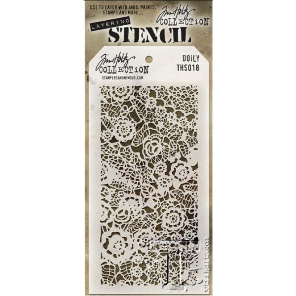 Šabloon Tim Holtz Doily Layering Stencil