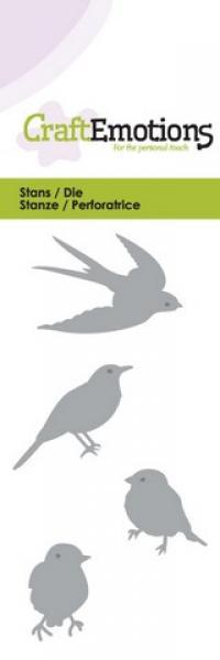 CraftEmotions Die - birds