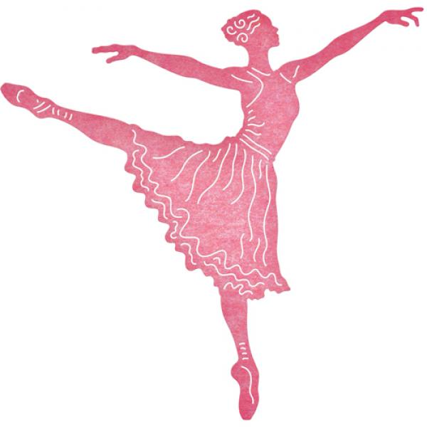 Cheery Lynn Designs Dies - Arabesque Ballerina