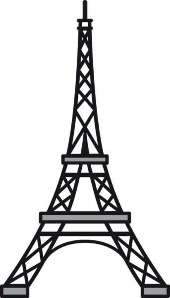 Lõiketera Marianne Design Craftables Eiffel Tower