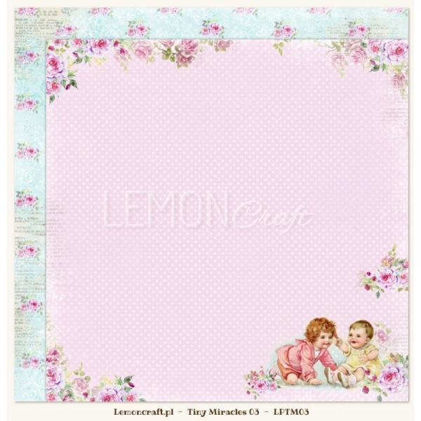 Disainpaber 30x30, Lemon Craft, Tiny Miracles 03