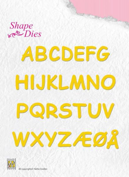 Lõiketera Nellie Snellen SD037 Alphabet