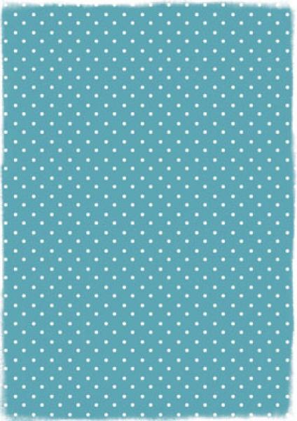 Reprint Hobby A4 Turquoise Dots