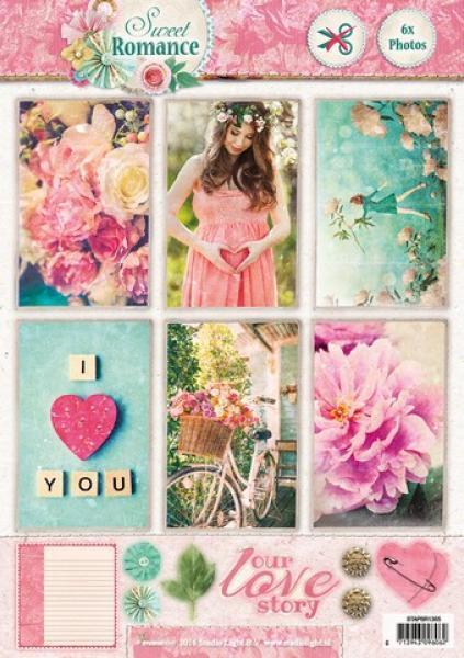 A4 pildikollaaž Sweet Romance