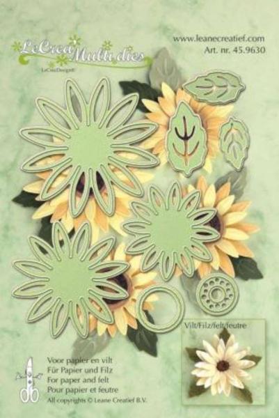 Lõiketera Leane Creatief Multi die Flower 006