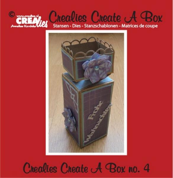 Lõiketera Crealies Create A Box no. 4 half toffee box 5,5 x 19 cm