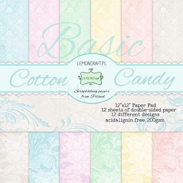 Disainpaberite plokk 30x30 LemonCraft Basic Cotton Candy