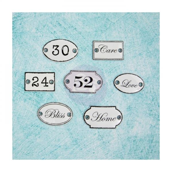 Metallist kaunistused Prima Marketing Shabby Chic Treasures Door signs