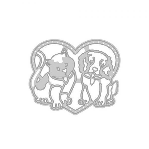 Lõiketera Tonic Studio Best Buddies (cat & dog)