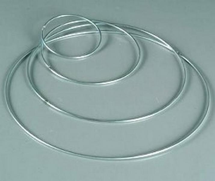 Metallist rõngas 3mm läbimõõt 20cm