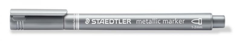 Staedtler metallic marker silver 1-2mm