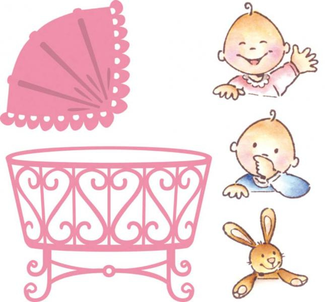 Marianne Design Collectables Eline`s baby
