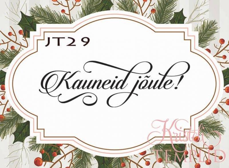 Eesti keelne tempel JT29 - Kauneid jõule!