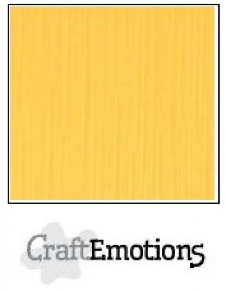 CraftEmotions paber A4, 10 lehte pakis 250g - kollane