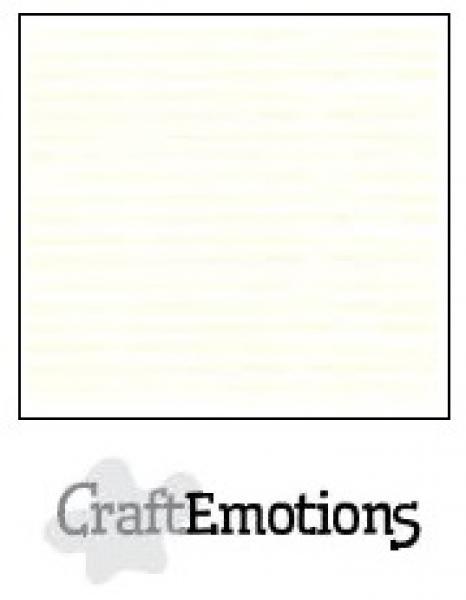 CraftEmotions paber 30,5x30,5 cm 10 lehte pakis off-white