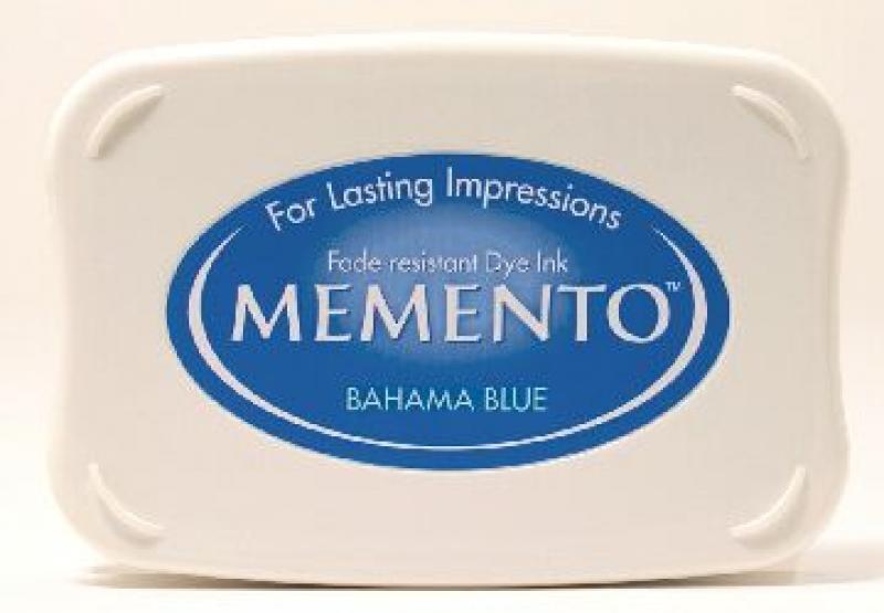 Templipadi Memento Ink Bahama Blue