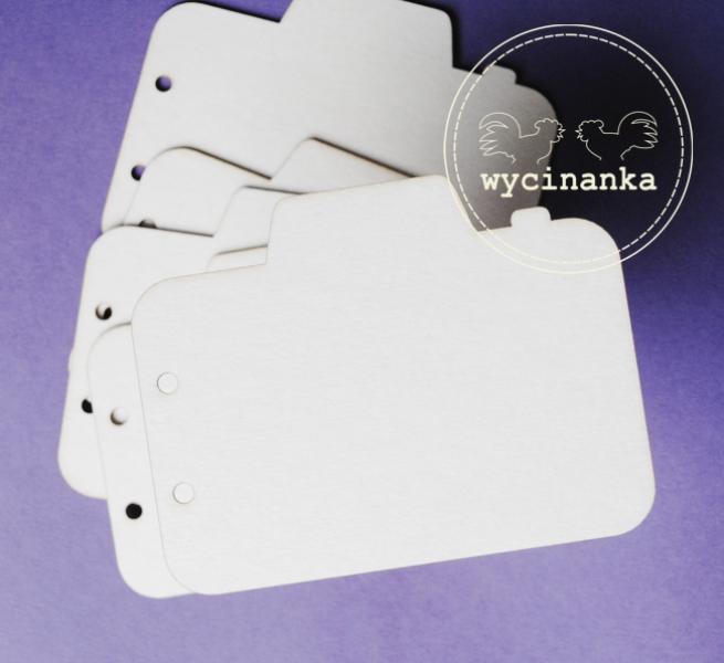 Chipboard - fotoka kujuga puidust albumilehed