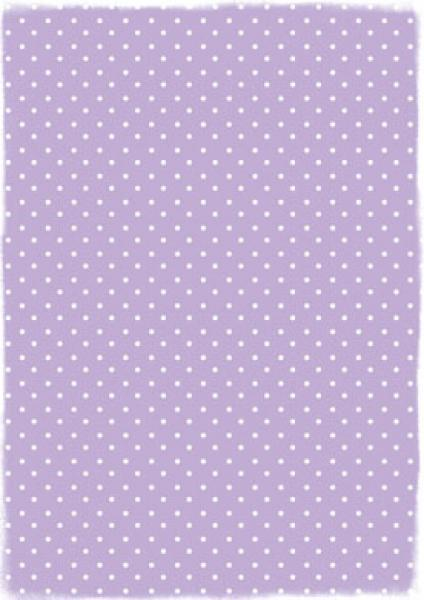 Reprint Hobby A4 Lightpurple Dots