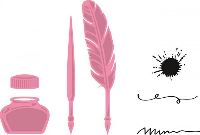 Marianne Design Collectable Quill pen and ink