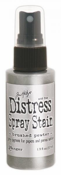 Distress Ink Spray Brushed Pewter