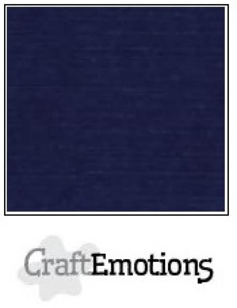 CraftEmotions paber 13,5x27 cm 10 lehte pakis 250g - dark blue