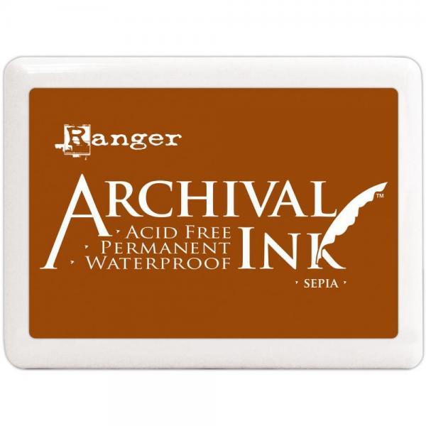 Templivärv Ranger Archival Ink Sepia (suur karp)