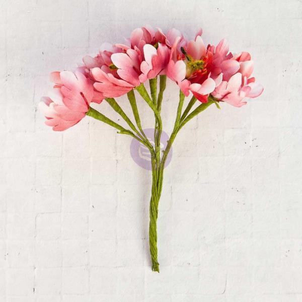 Prima Marketing Flower Bundles - Magneta