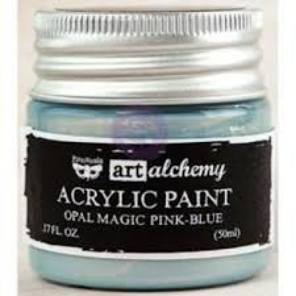 Prima Marketing Art Alchemy Acrylic Paint - Opal Magic Green-Gold