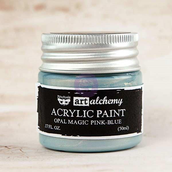 Prima Marketing Art Alchemy Acrylic Paint - Opal Magic Pink-Blue