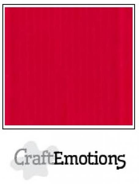 CraftEmotions paber A4 10 lehte pakis 250g - scarlet