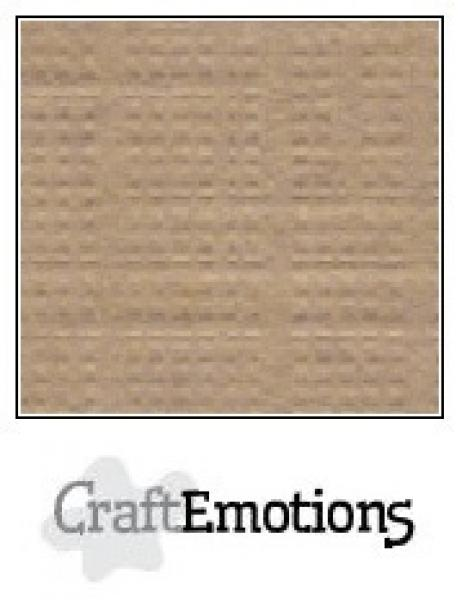 CraftEmotions paber A4 10 lehte pakis 250g - khaki
