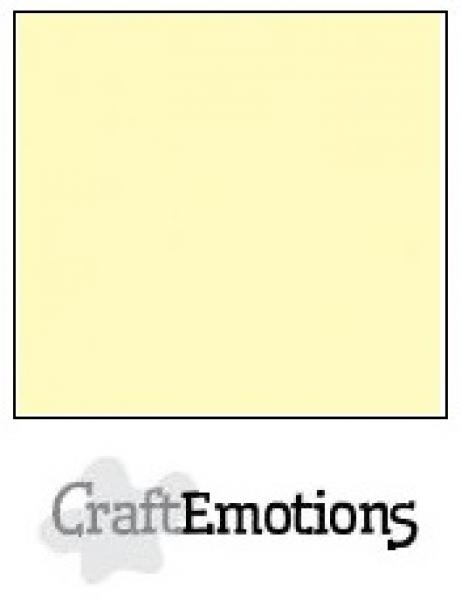 CraftEmotions paber A4 10 lehte pakis 250g - light yellow